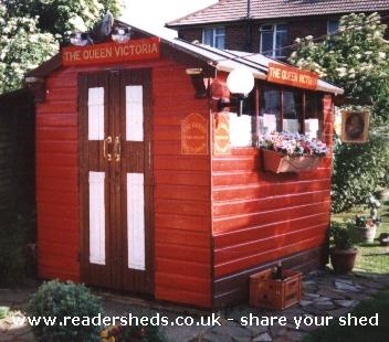 Photo of The Queen Victoria, entry to Shed of the year-The Queen Vic