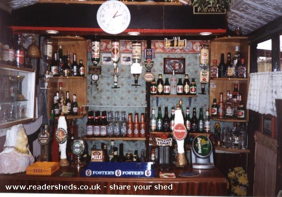 Photo of The Queen Victoria, entry to Shed of the year-The inside (bar)