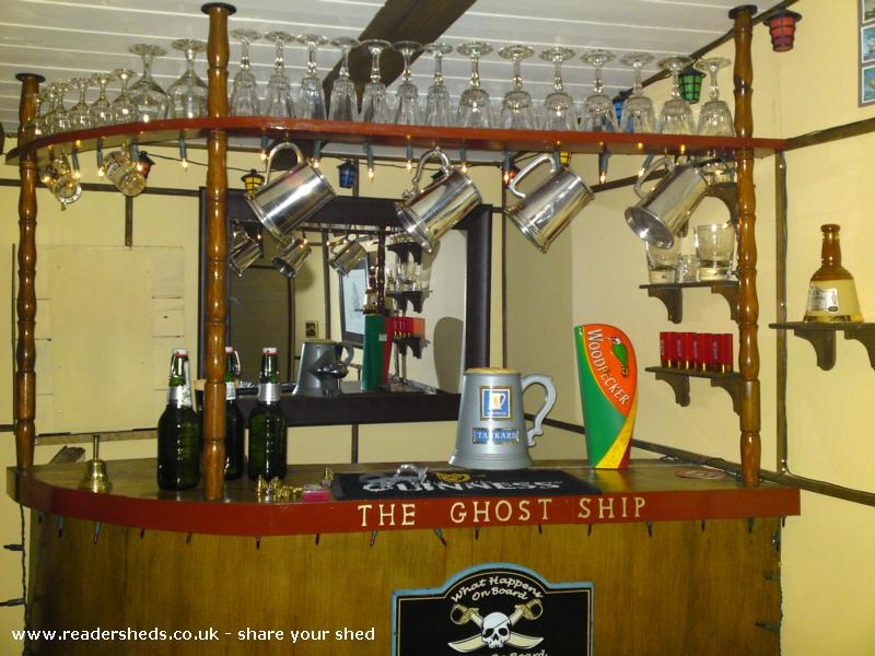 Photo of The Ghost Ship, entry to Shed of the year-Bar shot.