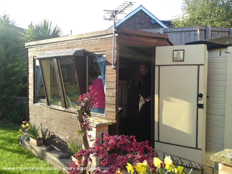 Photo of The Ghost Ship, entry to Shed of the year-outside