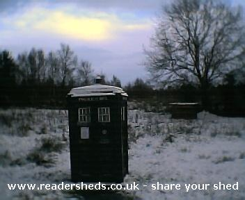 Photo of TheOldGirl, entry to Shed of the year-christmas day 2005