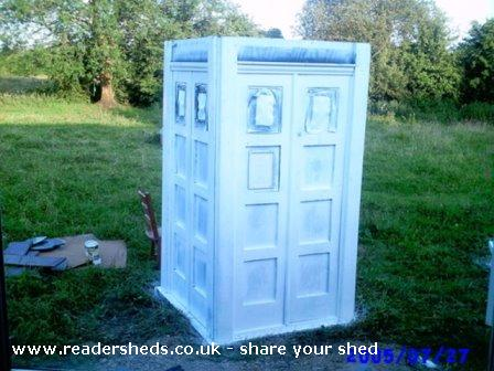 Photo of TheOldGirl, entry to Shed of the year-respray minus roof