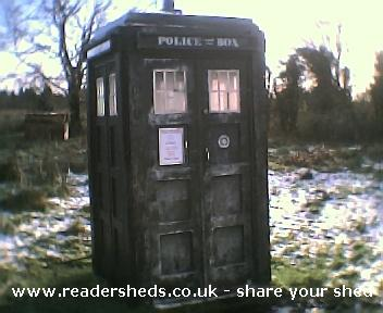 Photo of TheOldGirl, entry to Shed of the year-looking frosty
