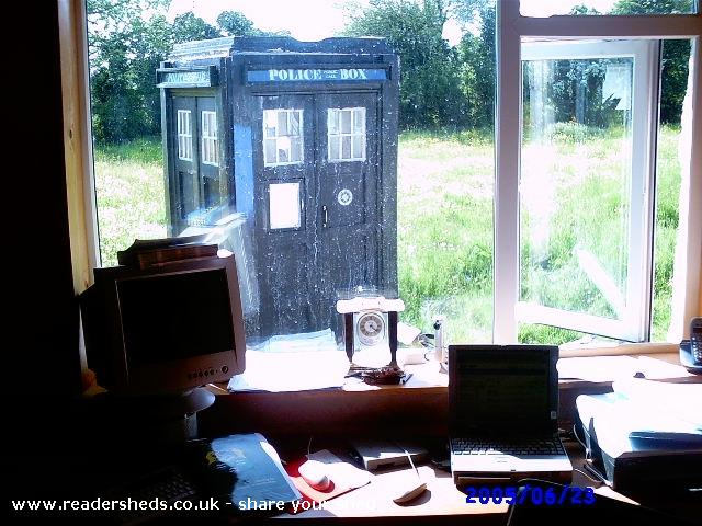 Photo of TheOldGirl, entry to Shed of the year-time for some TLC