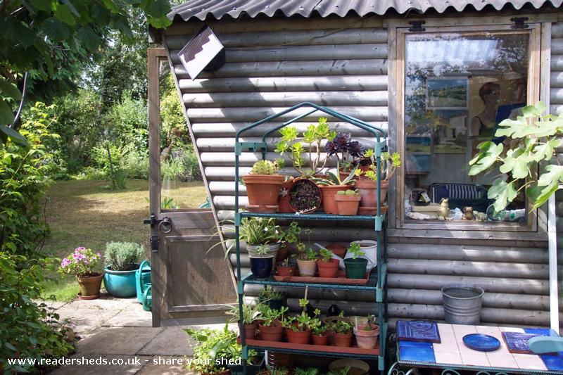 Photo of Anne's toy, entry to Shed of the year-outside