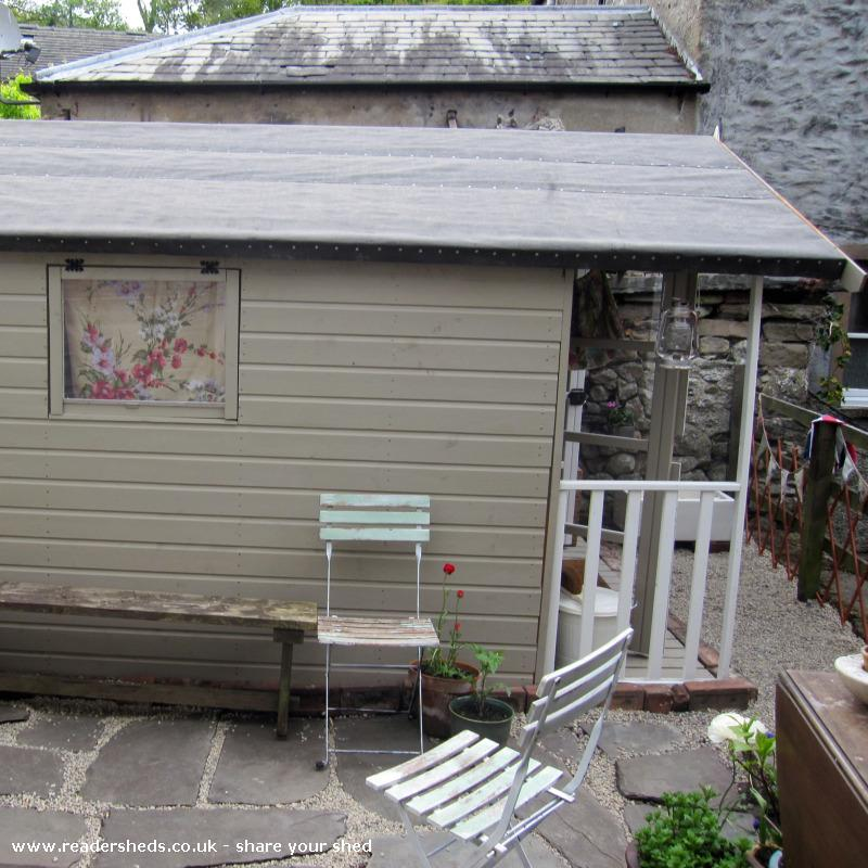 Photo of the home of ted & agnes..., entry to Shed of the year-side shediness