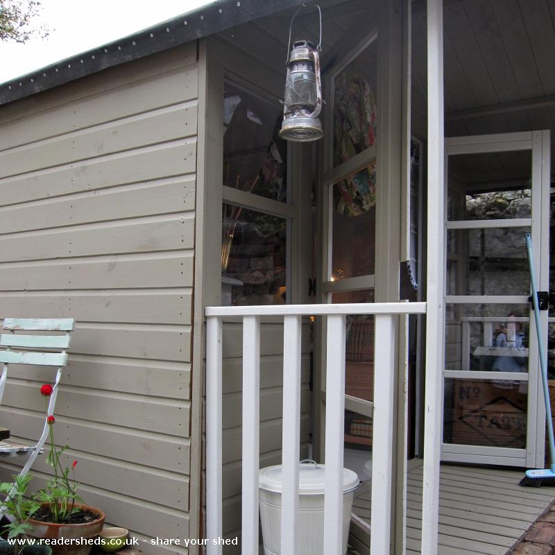 Photo of the home of ted & agnes..., entry to Shed of the year