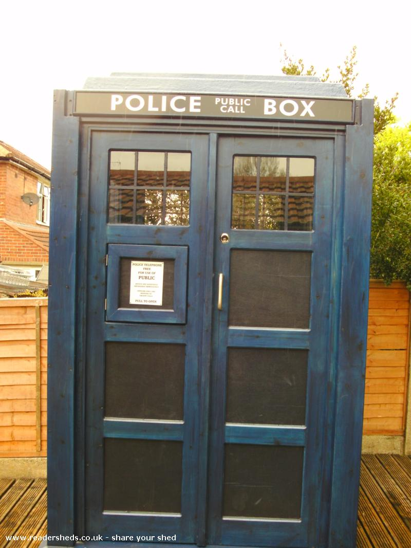 Photo of crichton-allen TARDIS, entry to Shed of the year