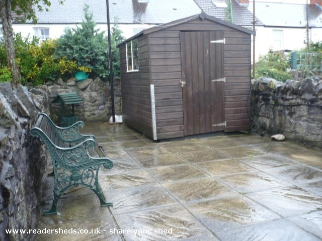 Photo of Mini Jeff, entry to Shed of the year-