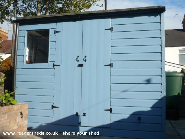 Photo of Mini Jeff, entry to Shed of the year-Finished external view