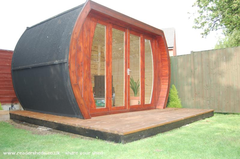 Photo of ecopod, entry to Shed of the year
