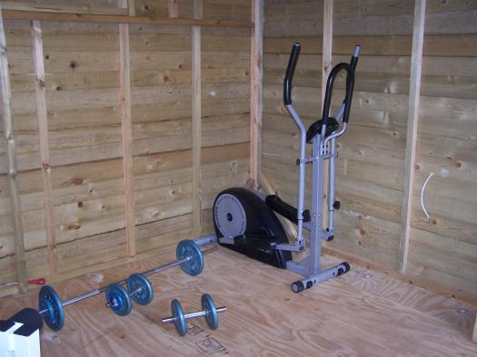 Photo of Gymshed, entry to Shed of the year-
