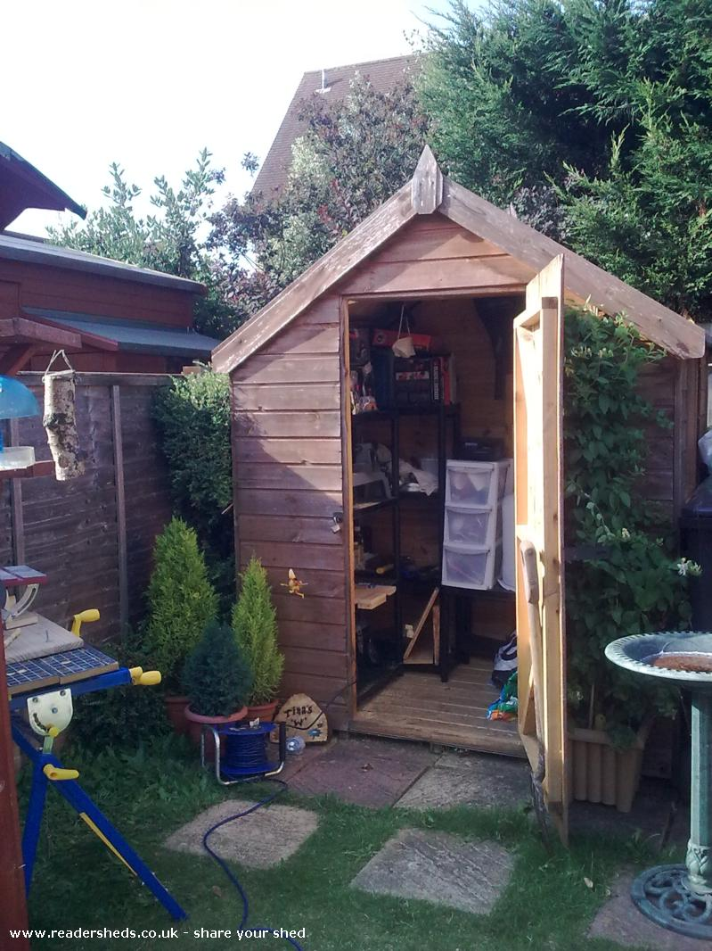 Photo of Tina's W, entry to Shed of the year-front view