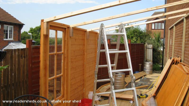 Photo of The Nasty Fettle, entry to Shed of the year-Going up