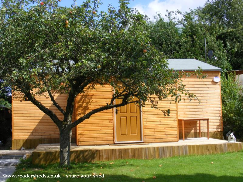 Photo of reelwood, entry to Shed of the year
