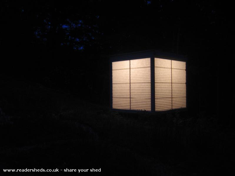 Photo of LanternShed, entry to Shed of the year-LanternShed as a japanese lantern.