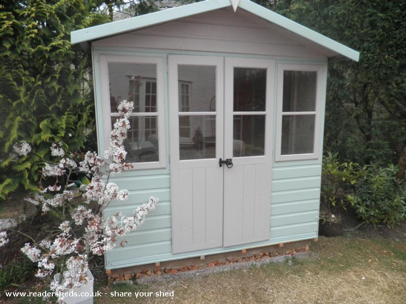 Photo of My Sweet Retreat, entry to Shed of the year-Front view