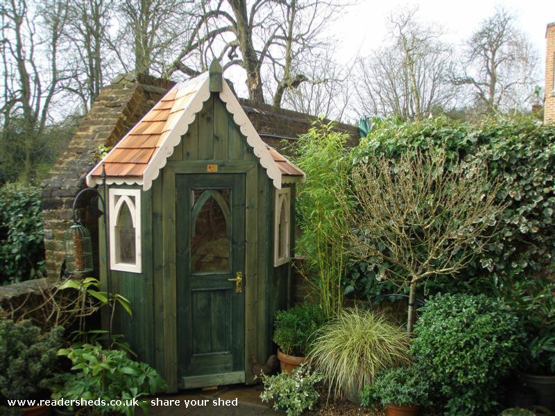 La Petite Poche Shed Unique From Mews Garden Owned By Val