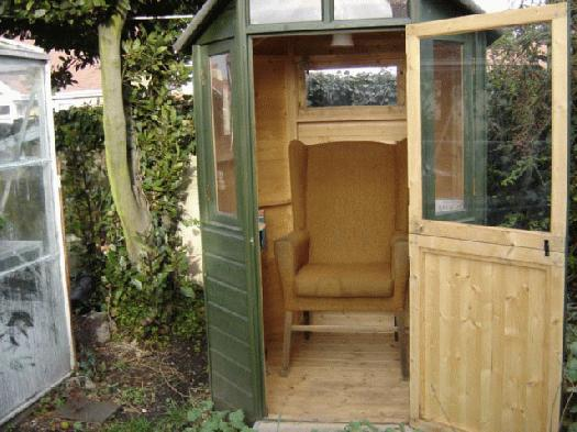 Photo of , entry to Shed of the year-door open