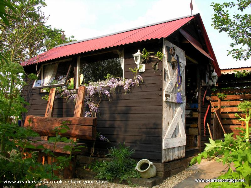 Photo of 'The Studio', entry to Shed of the year-South west exterior view