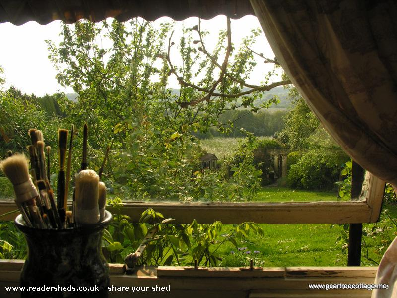 Photo of 'The Studio', entry to Shed of the year-View from studio window