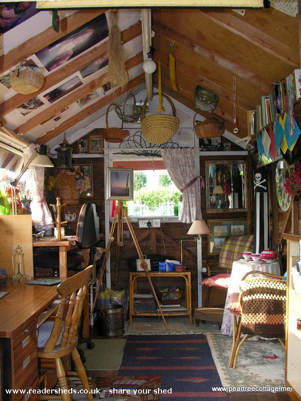 Photo of 'The Studio', entry to Shed of the year-The clutter!