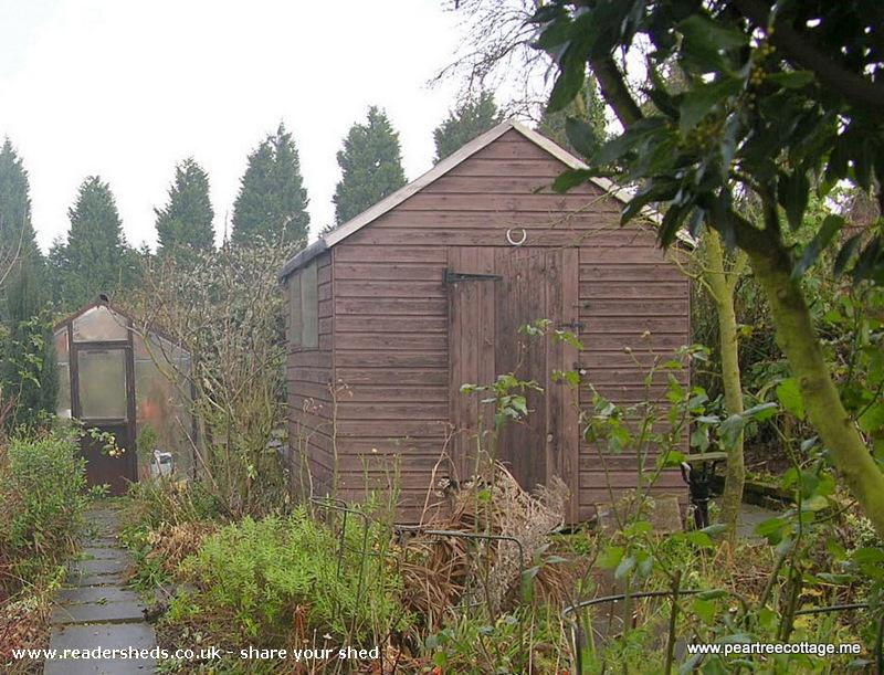 Photo of 'The Studio', entry to Shed of the year-Prior to restoration