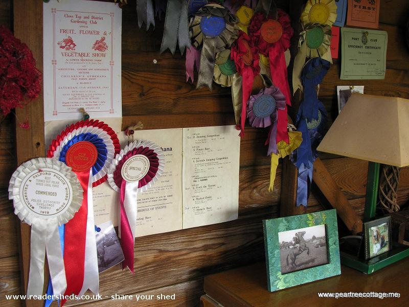 Photo of 'The Studio', entry to Shed of the year-Memorabilia