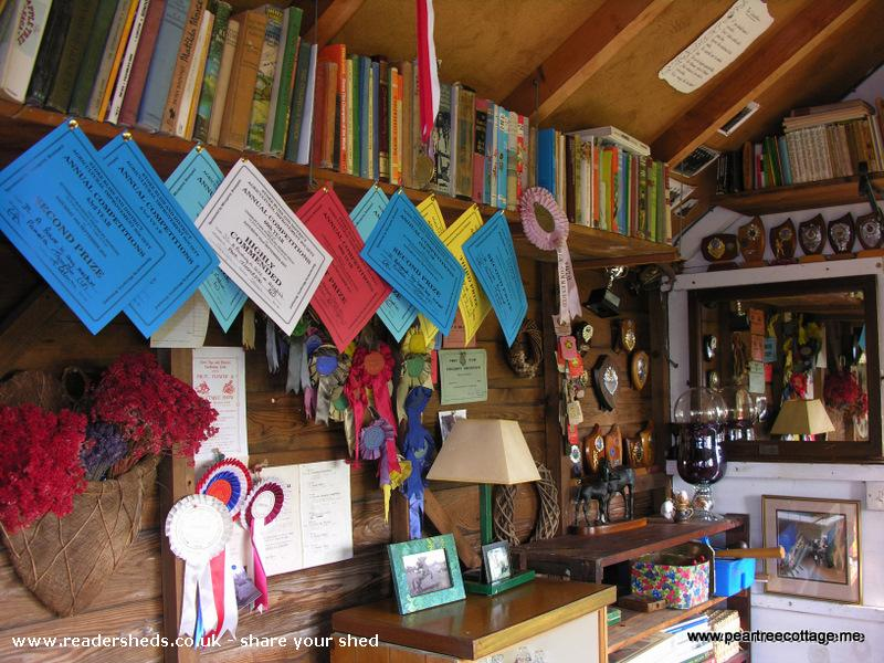 Photo of 'The Studio', entry to Shed of the year-Even more clutter