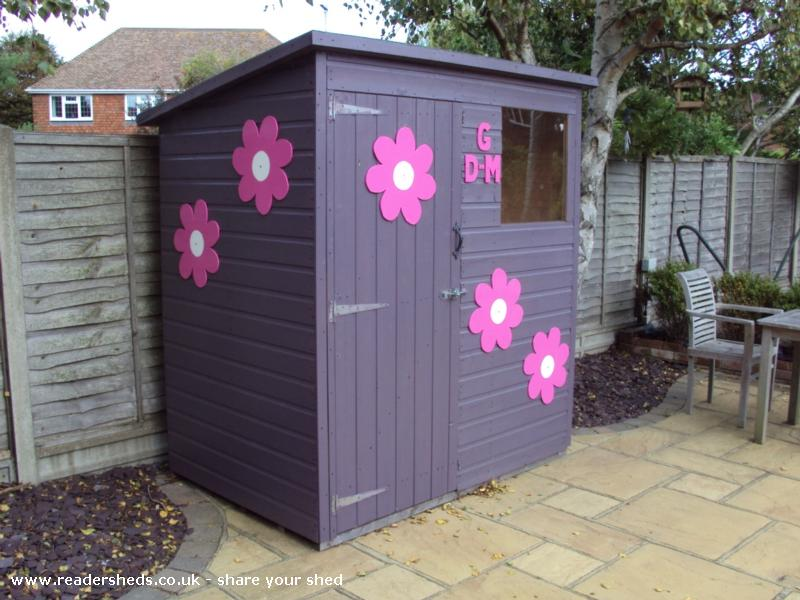 Giselle and Daisy-Mae's Shed