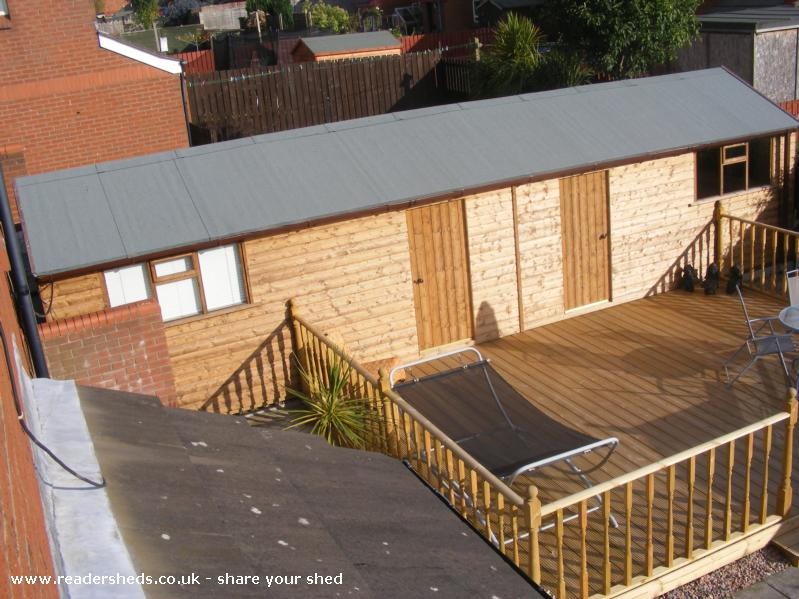 Photo of Jordan's Shed, entry to Shed of the year