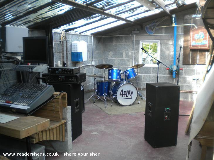 Photo of NurtureNoise, entry to Shed of the year