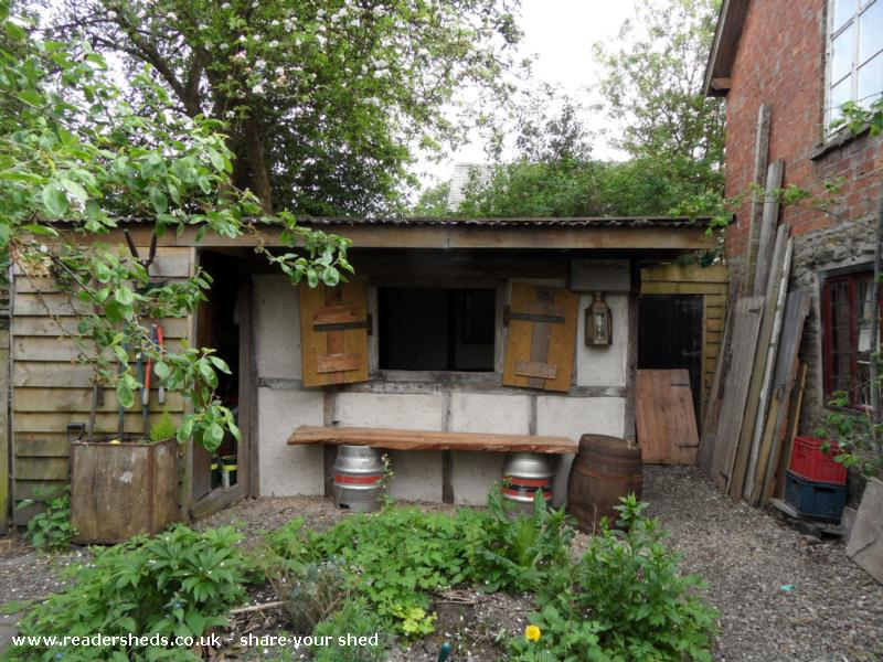 Photo of THE BOOT INN, entry to Shed of the year-outside