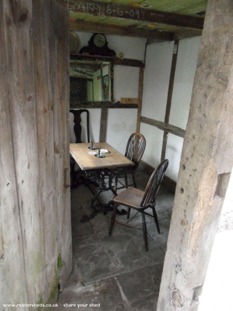 Photo of THE BOOT INN, entry to Shed of the year-Through the door