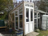 The Freegan Greenhouse - Andrew Gowland - Garden, Street Somerset