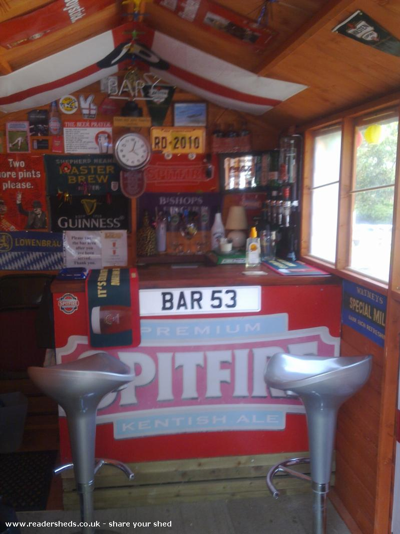 BAR 53,THE SPITFIRE LOUNGE