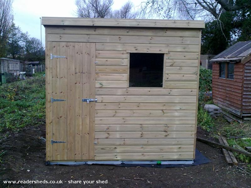 Brand New Shed