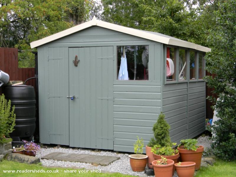 Matthew S Shed Unexpected From Glossop Owned By Matthew