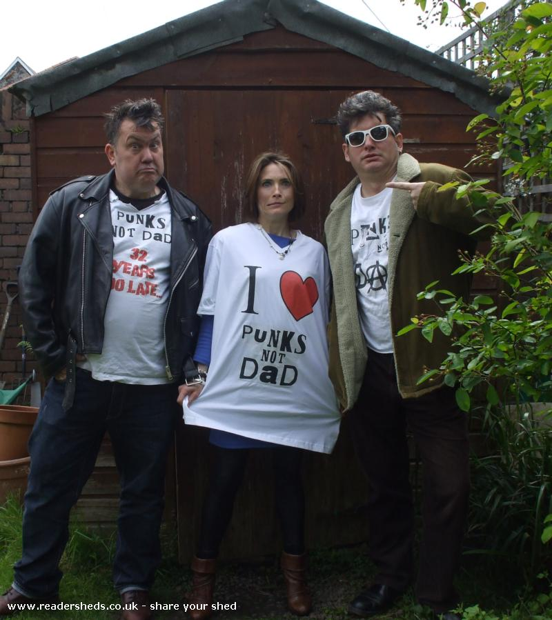 punks not dads shed