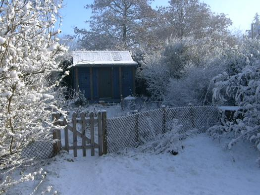 Photo of The Shed, entry to Shed of the year-Midwinter
