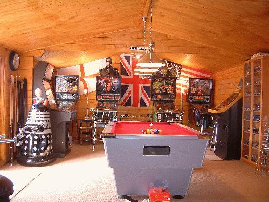 Wonderful All Photos Are Copyright Of The Sheddie Steve. Steveu0027s Games Room; Steve;  Lessingham