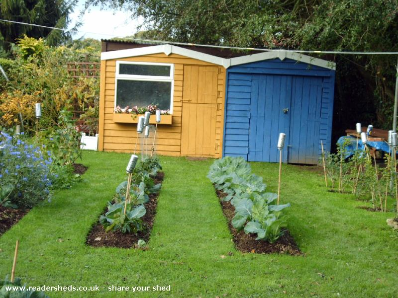 Photo of Beach Hut's, entry to Shed of the year-Front View