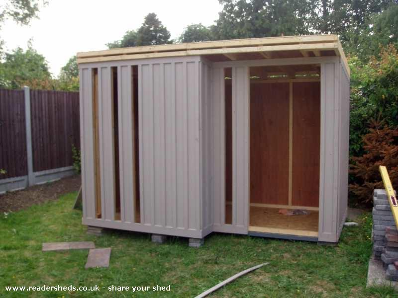 Photo of Concepto7, entry to Shed of the year-The Build