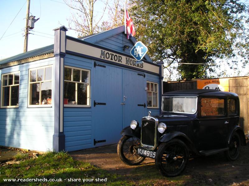 The Vintage Motor Works Workshop Studio From Sutton Saint