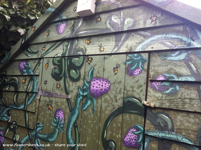 The Purple Berry Shed