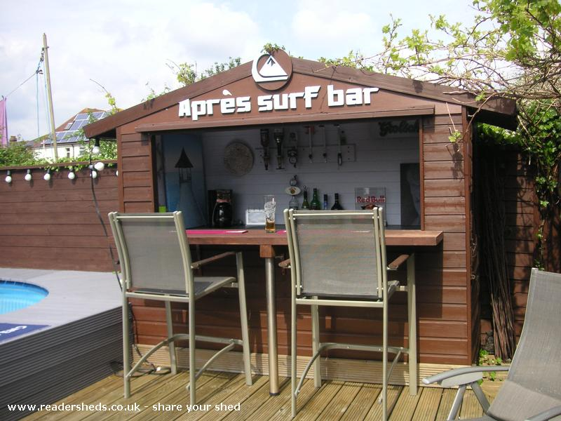 Backyard Bar Shed : How did your shed do in Shed of the year 2012  The best of the rest
