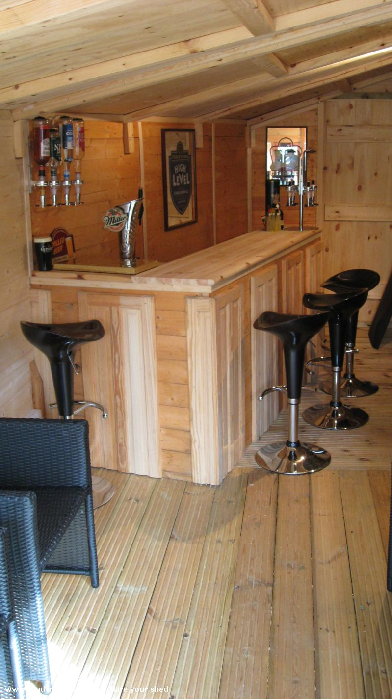 Photo of The Nasty Fettle, entry to Shed of the year-The bar area