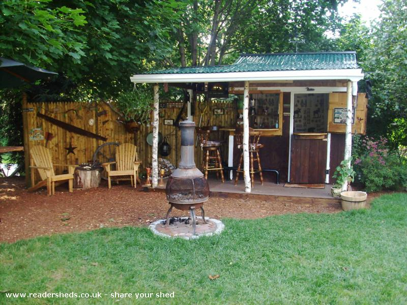 Photo of Redneck Tiki, entry to Shed of the year-updates
