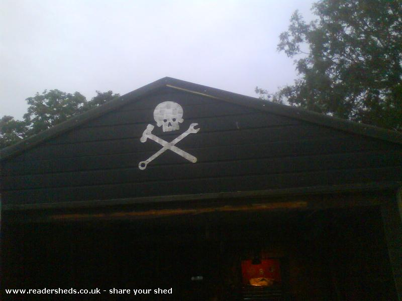 Photo of the doghouse, entry to Shed of the year