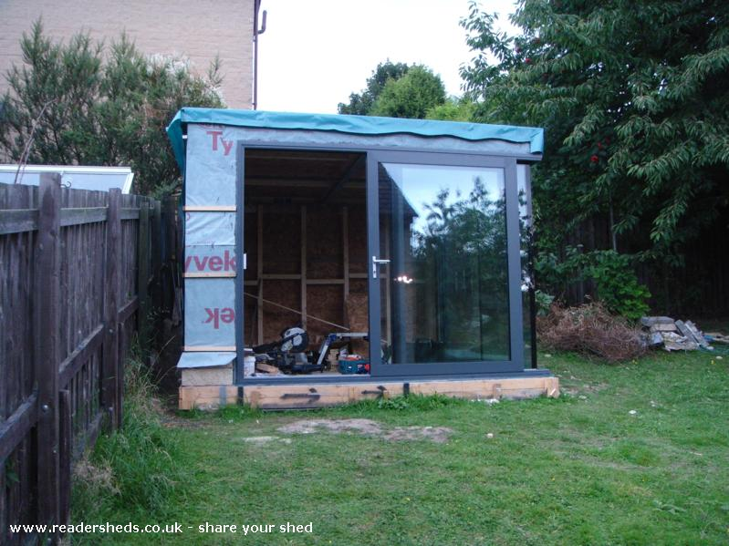 Photo of Summer Shed, entry to Shed of the year-Large sliding door - Opening of 1.5m